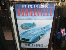 Healeys Return To Bonneville Poster
