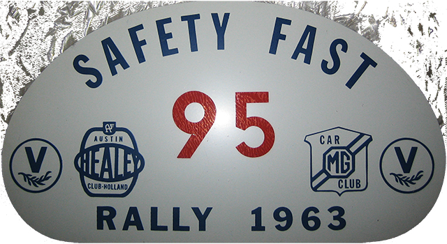 Safety Fast - Rallyschilden