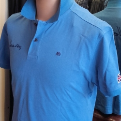 Healey Polo - Ocean Blue