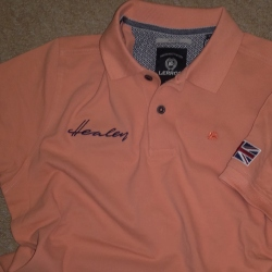 Healey Polo - Orange