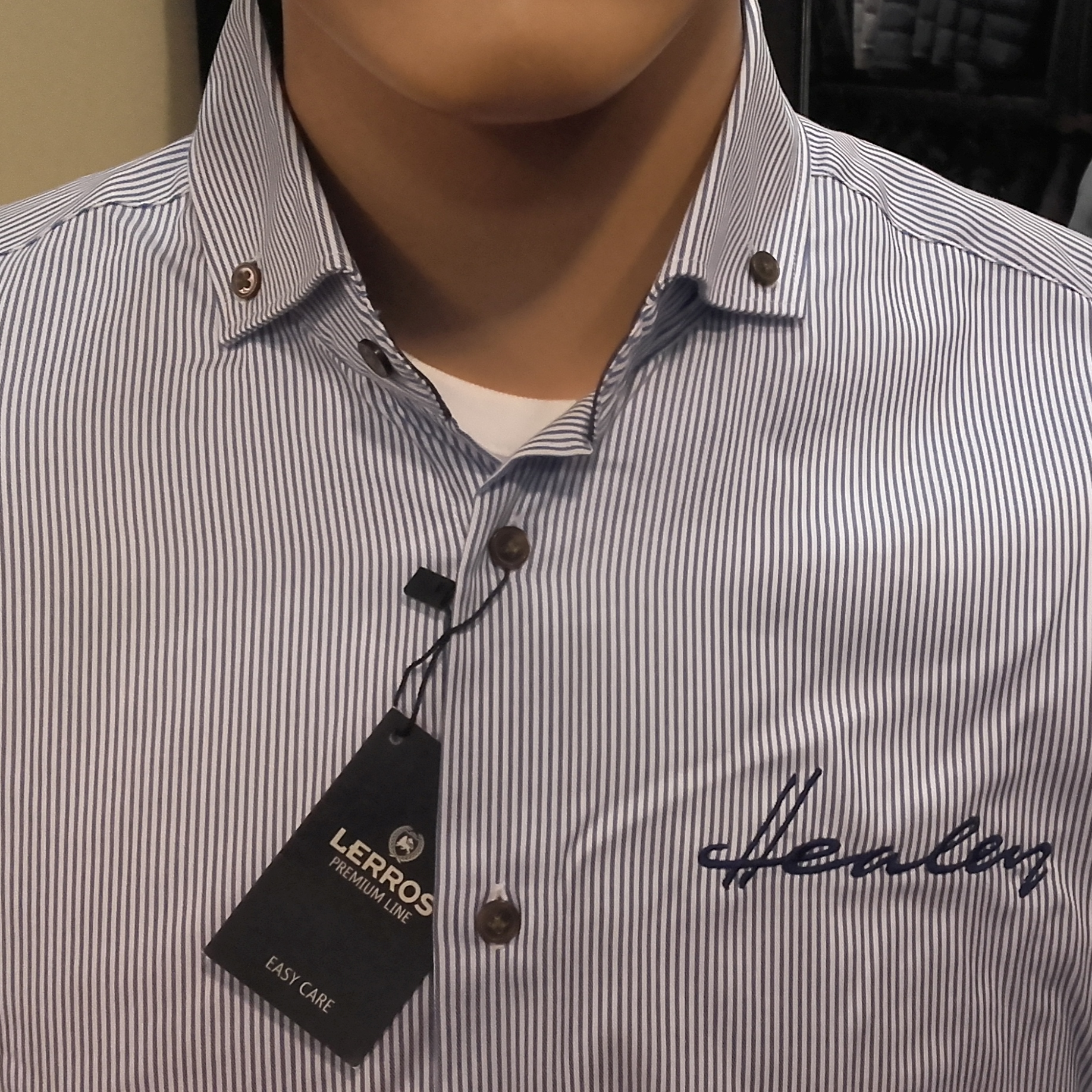 Healey Premium - Stripe Shirt
